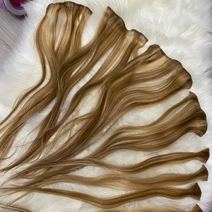 SOLD ❤️ CLIP IN 💯% HUMAN HAIR 18inch EURONEXT